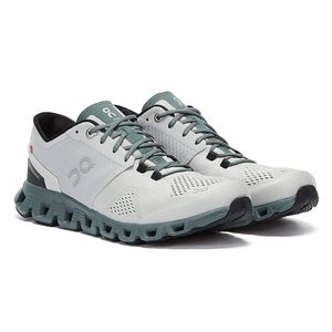 On Running Cloud X Weiss / Grau Herren Sneakers