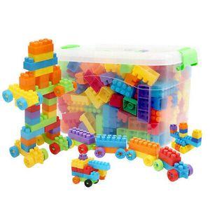 180 Kinder Bausteine Spielzeug Konstruktionsspielzeug für jungen Mädchen