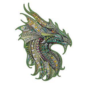 Basswood A3 Holzpuzzle Dragon Planes Puzzle  Lernspielzeuge Guardian Dragon Holzpuzzle für Erwachsene Kinder Geschenke