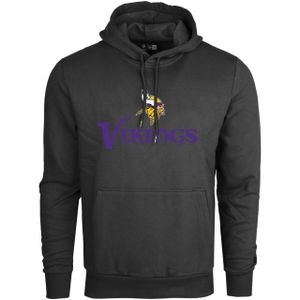 New Era STACK LOGO Hoody - NFL Minnesota Vikings schwarz