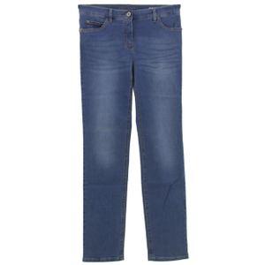 23049 Gerry Weber, Irina,  Damen Jeans Hose, Stretchdenim, blue used, D 38 Inch 29 L 32