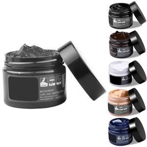 Lederreparatur Leder Reparatur Creme Lederpflege Grau Hell Dunkel Farbe 50ml
