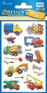 Etiketten KID Baustelle 53209 von ZWECKFORM