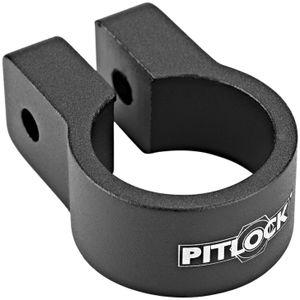 Pitlock Sattelklemme schwarz Durchmesser 31,8mm