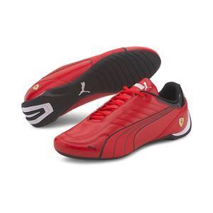PUMA Unisex Ferrari Race FUTURE KART CAT Rennsport Sneaker Low Top, Größe:UK 9.5 - EUR 44 - 28.5 cm, Farbe:Rot (Rosso Corsa - Puma Black)