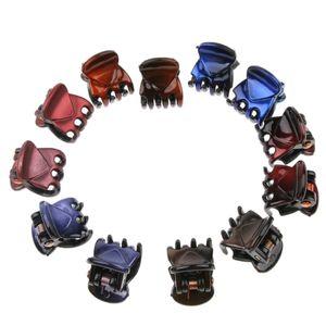 12 teilige Mini Klauenklammern Haarklammern für kleine rutschfeste 01 Haarklammer wie beschrieben