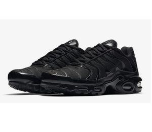 Nike Air Max Plus TN EUR Gr.42 Schuhe Sneaker NEU Herren Schwarz