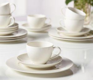 Vivo - Villeroy und Boch Group Basic White Kaffee Set 18tlg. Premium Porcelain 348,00mm 1952777126