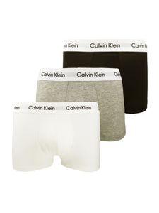 Calvin Klein Low Rise Herren 3er Pack Boxershorts Mehrfarbig, Größe:M