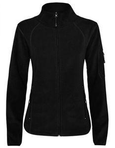 Damen Luciane  Microfleece Jacket,100% Polyester Microfleece - Farbe: Black 02 - Größe: M