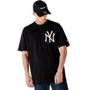 New Era Oversized T-Shirt New York Yankees schwarz M