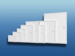 Aufbau Revisionstür Kunststoff : 150x150mm Größe: 150x150mm