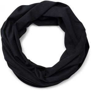 styleBREAKER Jersey Multifunktionstuch, Schlauchtuch, Stirnband, Haarband, Kopftuch, Loop Schlauchschal, Unisex 01012037, Farbe:Schwarz