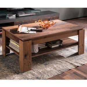 Tisch Wohnzimmertisch Couchtisch Sofatisch Holztisch Old Wood 110 x 47 x 65 cm
