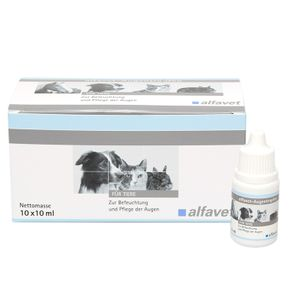 Alfavet Augentropfen 10ml für Pferde, Hunde, Katzen und Kaninchen