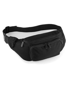 Bauchtasche / Belt Bag / 37 x 15 x 10 cm - Farbe: Black - Größe: 37 x 15 x 10 cm