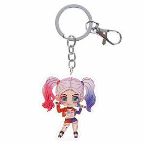 Chibi Schlüsselanhänger mit Figur von Harley Quinn | Anhänger für Suicide Squad Fans