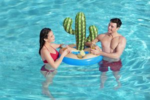 Bestway® Getränkehalter, Kaktus, 94 x 70 cm