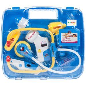 MalPlay Arzt Spielzeug | Kinder Rollenspiele Arztkoffer | Doktor Set | Geschenk für Mädchen und Jungen | ab 3 Jahren