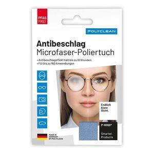 Polyclean Antibeschlagtuch   Antifog-Tuch   Microfaser-Brillen-Poliertuch   Deutsche Produktion   PFAS frei