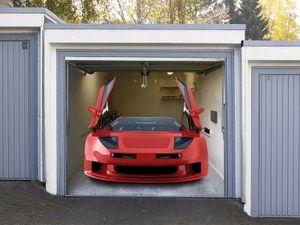 Garagentor Dekobild Sportwagen
