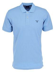 GANT MD.SUMMER PIQUE SS RUGGER Herren Poloshirt, Größe:3XL, GANT Farben:Capri Blue