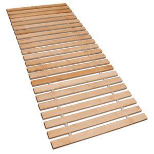 Betten-ABC Premium Rollrost, Stabiles Erlenholz, mit 23 Leisten und Befestigungsschrauben Größe: 90x200
