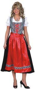 Gr. 48 Dirndl Tessa Kleid,Schürze Kostüm