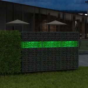 Gabionensteine Glas Grün 60-120mm 25kg Gabione Glassteine Glasbrocken