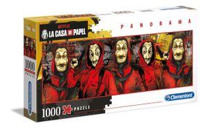 Clementoni 39545 Netflix La Casa De Papel 1000 Teile Panorama Puzzle