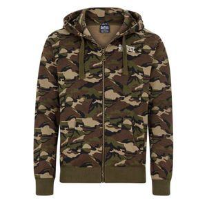 BENLEE Rocky Marciano Hoodie Sweatshirt Herren Camouflage-Woodland, Größe:S