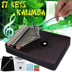 17 Tasten Kalimba Daumen Klavier Thumb Piano Finger Musikinstrument Spielen DE