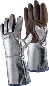 Jutec Hitzehandschuhe Länge 38cm Sebatan / Preox-Aramid-Alu 5Finger Kat.III max. 1000 Grad C - H05LA238-W2