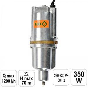FLO Membranpumpe Tauchpumpe 350 Watt 1200 l/h Pumpe