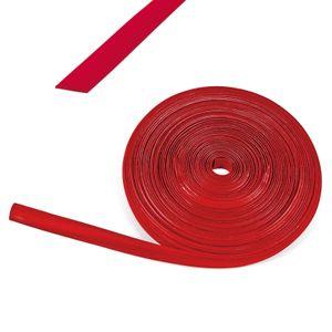 60 Meter Kederband 12 mm rot Kunststoff Leistenfüller RAL 3003