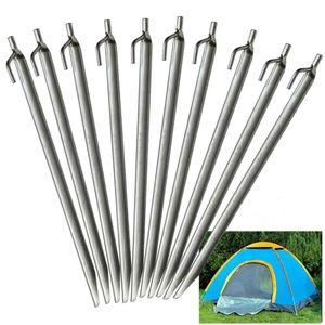 Yaheetech Zelt Heringe 30cm Pavillon Zelt Vorzelt Erdnägel Camping 10 Stück aus verzinkt Stahl