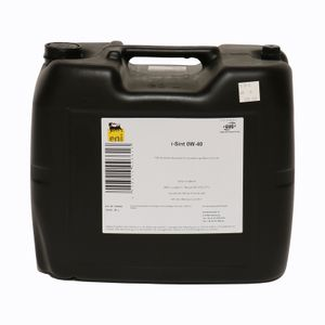 Eni i Sint Motoröl Öl SAE 0W40 104350 20L 20 Liter ACEA A3/B4 API SN MB 229.5