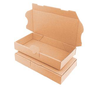 verpacking 10 Maxibriefkartons Versandkartons Faltschachtel Faltkarton Maxibrief 180 x 100 x 30 mm   Braun   MB-0