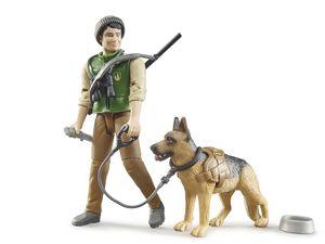 bworld Förster mit Hund und Ausrüstung