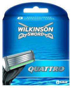 Wilkinson Sword Quattro 8 Klingen in einer Packung für den Mann