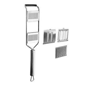 Multifunktionale Gemüse Slicer Edelstahl Reibe Shredder Küche Werkzeug Silber Küche Liefert