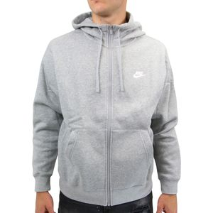 Nike Sportswear Club Fleece Hoodie jacke Herren Grau (BV2645 063) Größe: S