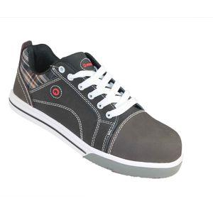 Ardon Safety Derrick S3 SRC flach Schwarz Sneaker, Größe:47 EU
