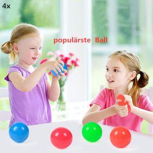 4x Sticky Globbles Ball/Dekompressionskugel/Licht ausstrahlend Ball/populaerste Ball in Tiktok/Stress Spielzeug/Geschenk fuer kinder/ fluoreszierende Sticky Wand Kugel/Spielzeug /aktuelle Spielzeug/ Weihnachtensgeschenk