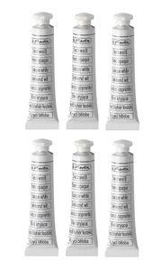 6 Tuben Herlitz Deckweiß mit je 7,5ml
