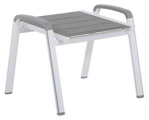 MWH Futosa Hocker- Material: Aluminium, Farbe: Arctic White, Maße: 54 cmx58 cmx49 cm; 879334