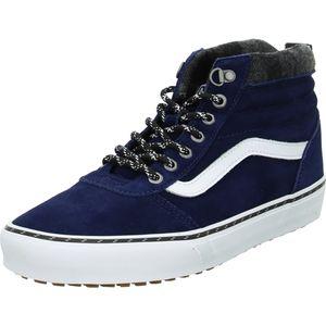 VANS Herren Sneaker Sneaker High Veloursleder blau 43