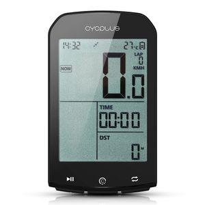 Smart GPS Fahrradcomputer BT 4.0 ANT + Fahrrad Wireless Computer Digital Tachometer Hintergrundbeleuchtung IPX6 Genaue Fahrradcomputer