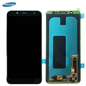 Original Samsung Galaxy A6 Plus 2018 A605F A605FN Amoled Digitizer LCD Display + Touch Screen Bildschirm Schwarz GH97-21878A / GH97-21907A