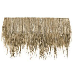 Wilai Palmdach Paneele Palmschindel Palmenblätter | 100% Nachhaltiges Naturmaterial | Wetterfest Regendicht und Langlebig | Innen- und Außenbereich | ca. 145 cm x 80 cm | 1er Stück